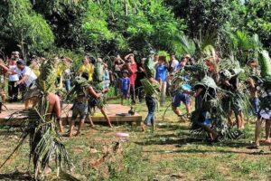 Peserta Festival Tawur Bubur Meriah